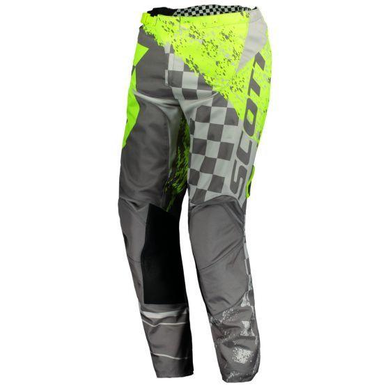 Scott Moto 350 Grey Yellow Pants
