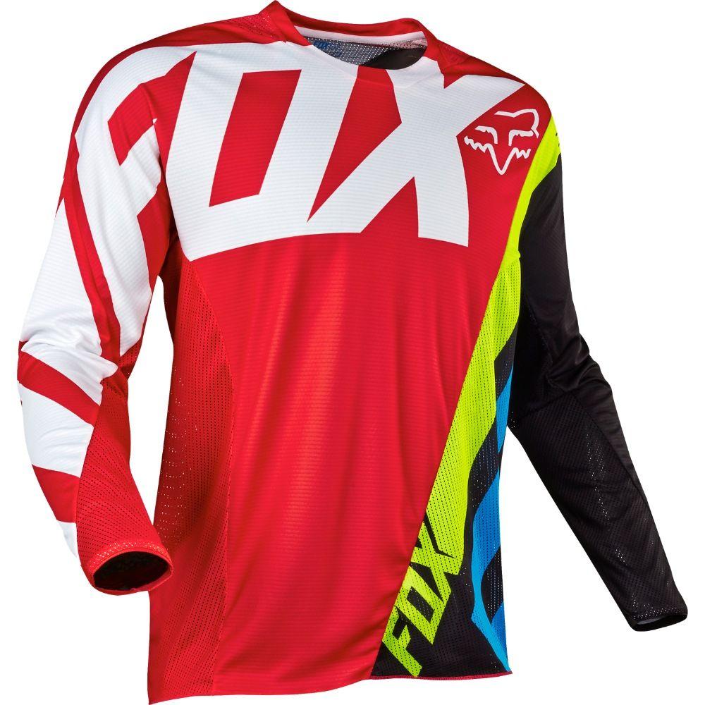 Fox 360 Creo Mx Jersey Red White Black Fluro