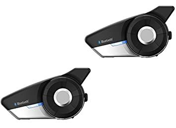 Sena 20S EVO, Motorcycle Bluetooth Communication System - Dual Pack