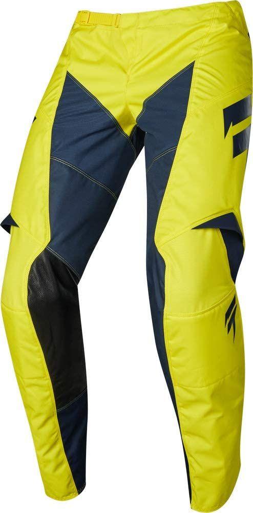 SHIFT Yellow Blue Jersey Pants