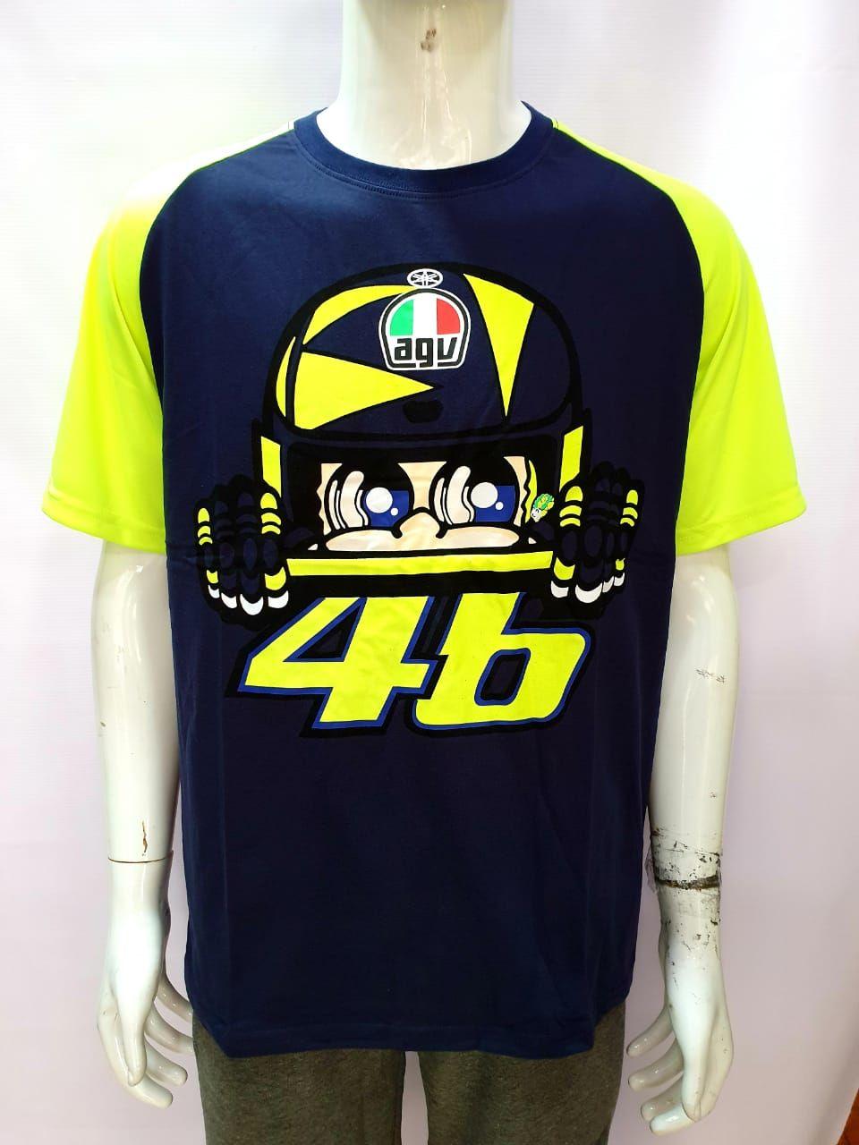VR 46 AGV Round Neck T-shirt
