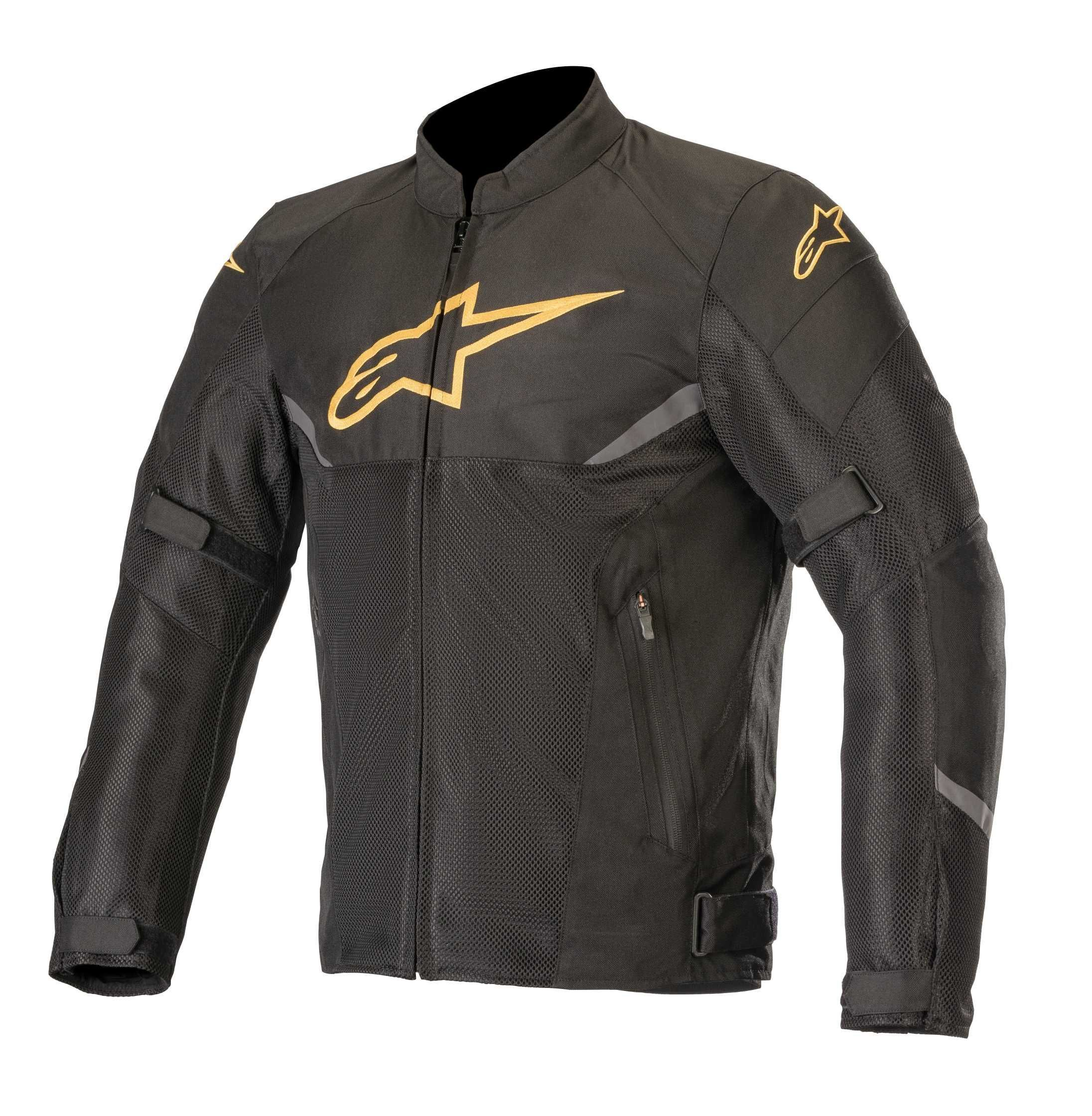 ALPINESTARS AXEL AIR JACKET - BLACK GOLD