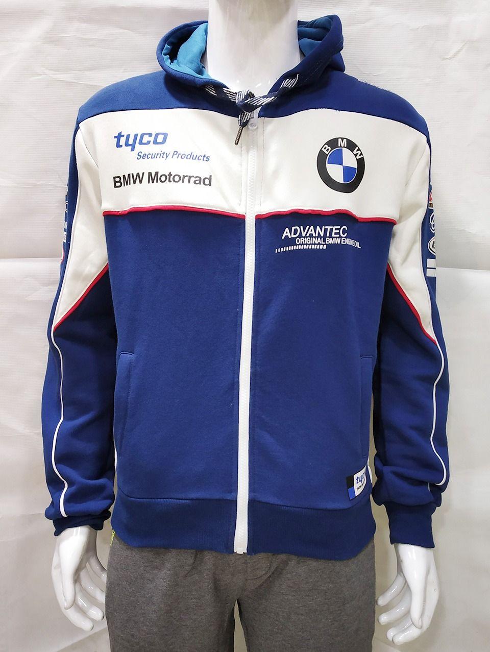 BMW Tyco Hoodies - White