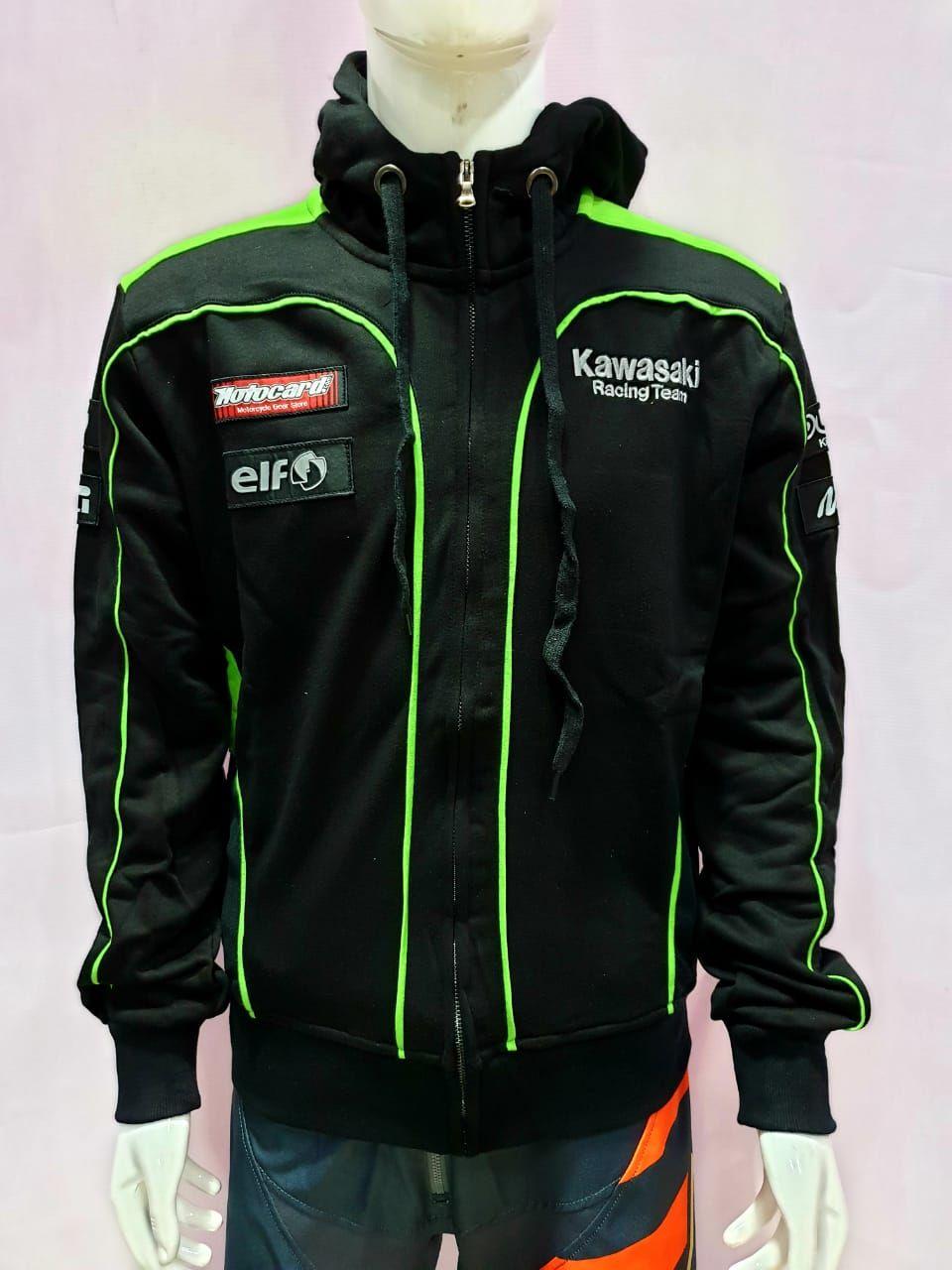 Kawasaki Racing Team Hoodies