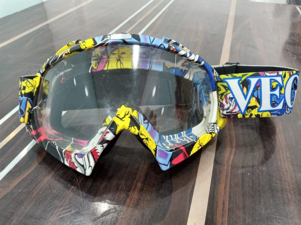 Vega Multicolor Off Road MX Clear Goggles