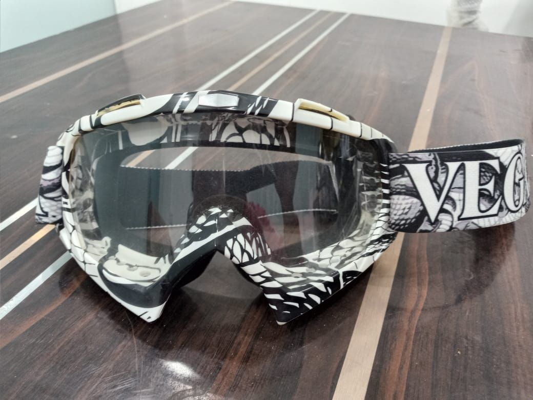Vega Multicolour Off Road MX Clear Goggles