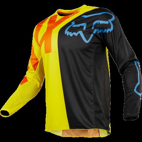 Fox 360 Mx jersey Yellow Orange Black