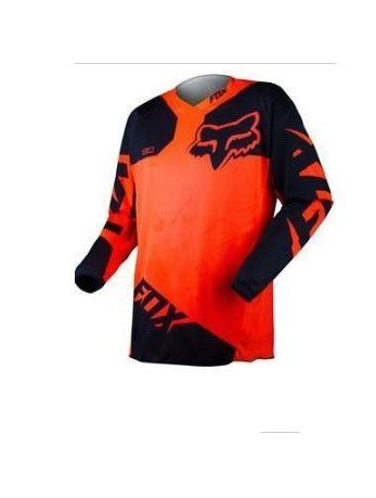 Fox 180 Mx Jersey Orange Black