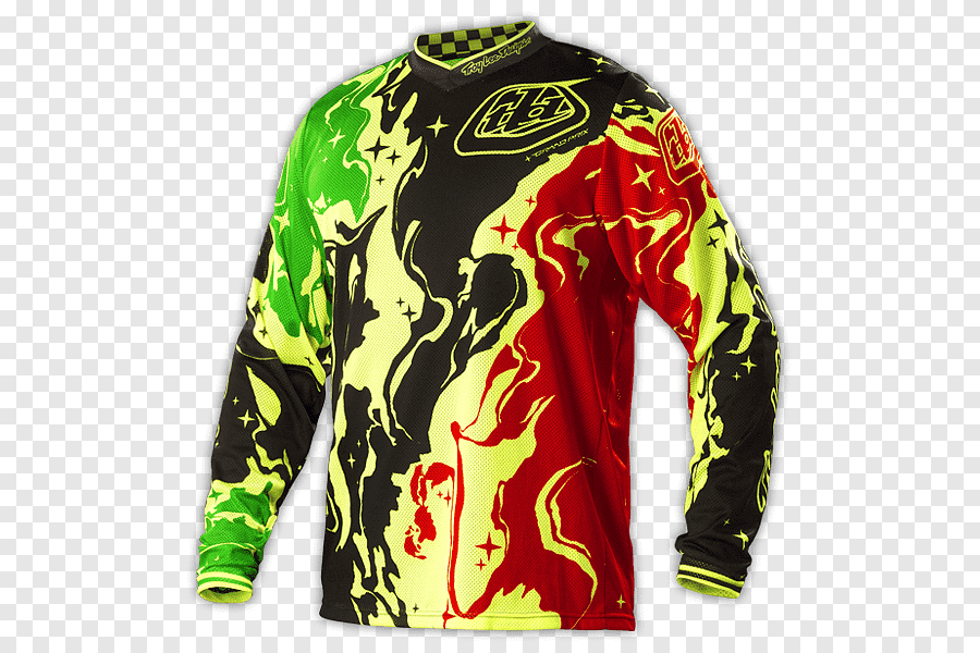 TLD Mx Jersey Green Black Red