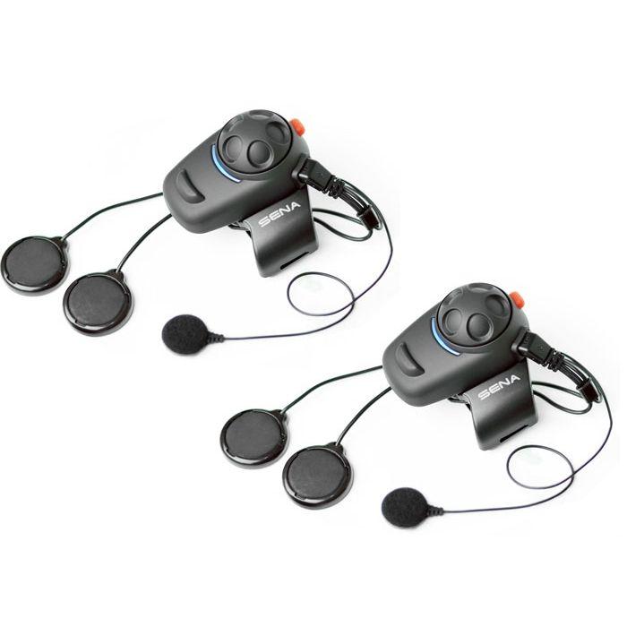 Sena SMH5 MultiCom, Motorcycle Bluetooth Communication System - Dual Pack