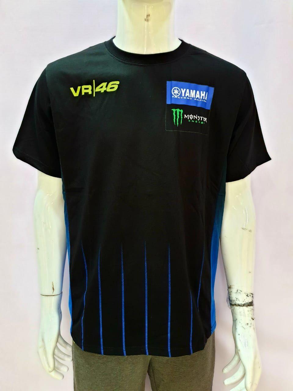Yamaha Monster VR 46 Round Neck T-shirt