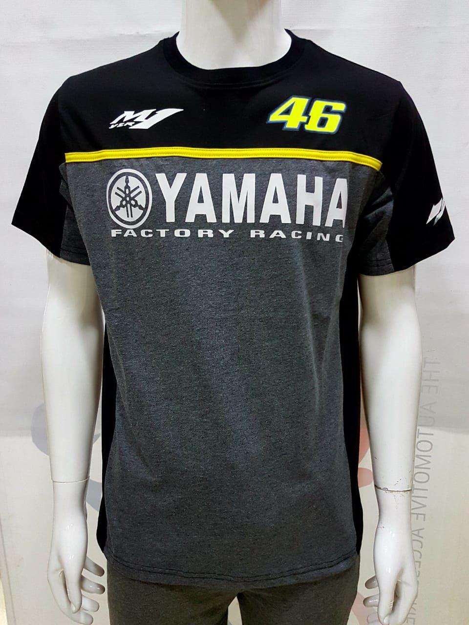 Yamaha M1 YZR 46 Factory Racing Round Neck Tshirts