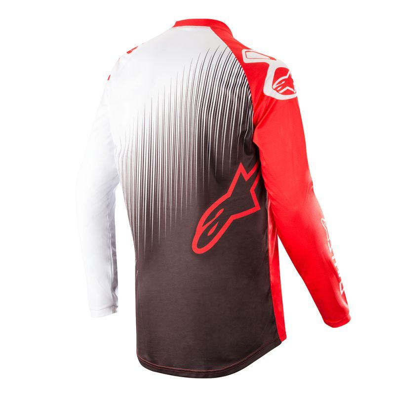 Alpinestars Race Supermatic Red Blk White
