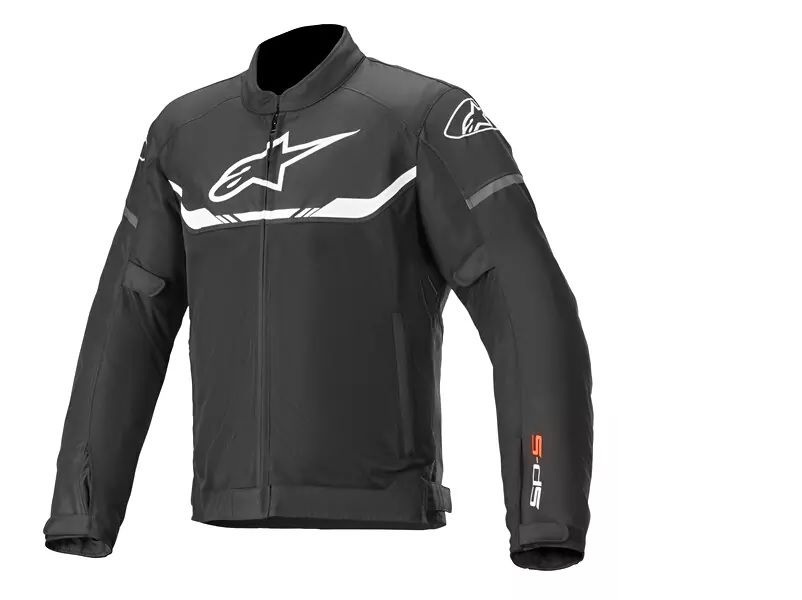 ALPINESTARS T-SPS AIR JACKET BLACK WHITE