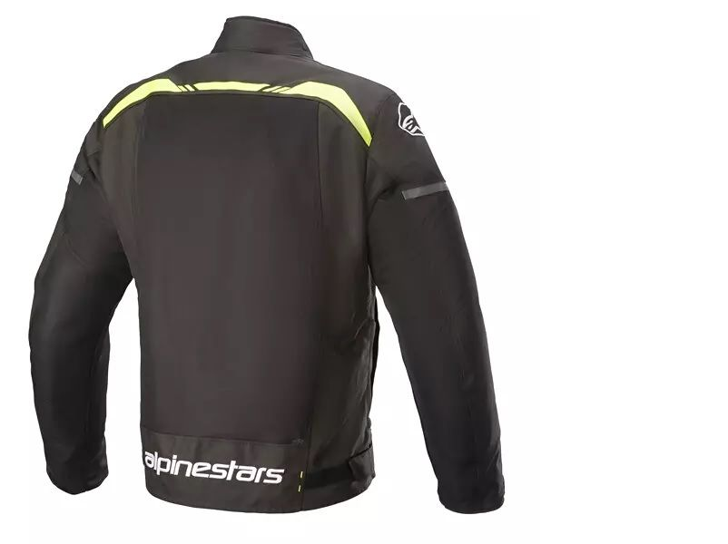 ALPINESTARS T-SPS AIR JACKET BLACK YELLOW FLURO