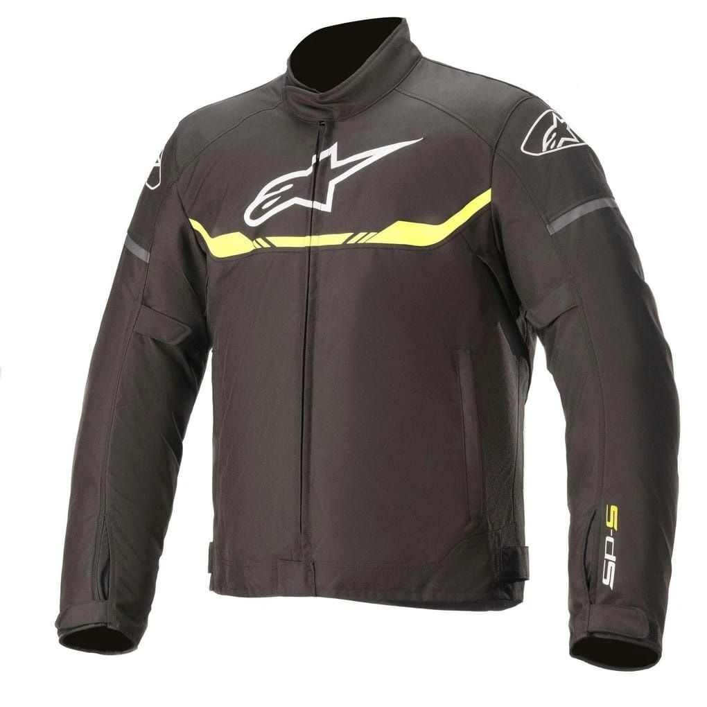 ALPINESTARS T-SPS WP JACKET BLACK YELLOW FLURO