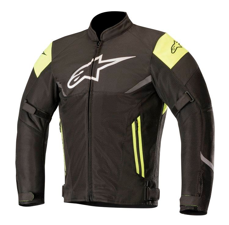 Alpinestars Axel Air Jacket Black/Yellow Fluro
