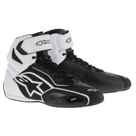 Alpinestars Faster-2 Vented Shoes Black White