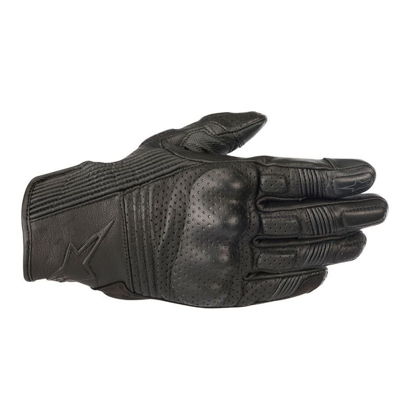 ALPINESTARS MUSTANG V2 LEATHER GLOVE BLACK