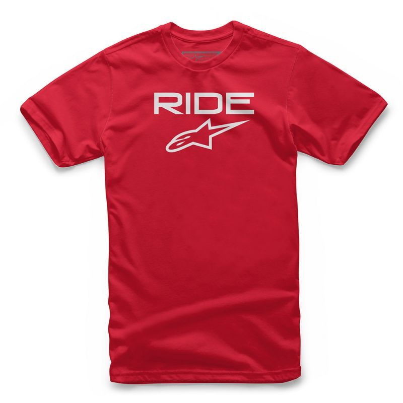Alpinestars Ride 2.0 Tee Red White