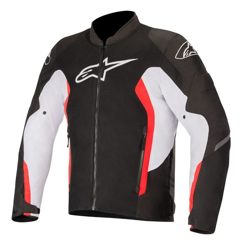 Alpinestars Viper V2 Jacket Black White Bright Red