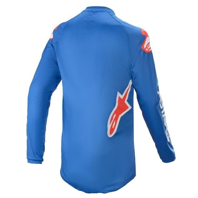Alpinestars Fluid Speed Jersey Blue Bright Red