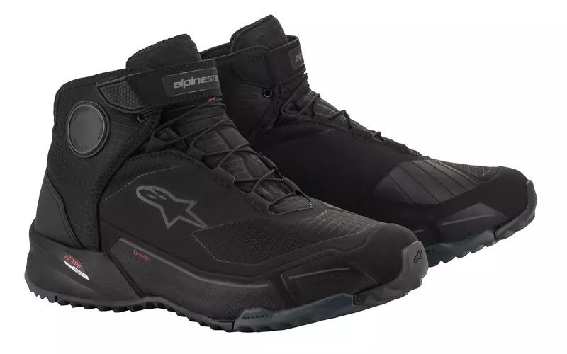 CR-X DRYSTAR RIDING SHOES Black Black