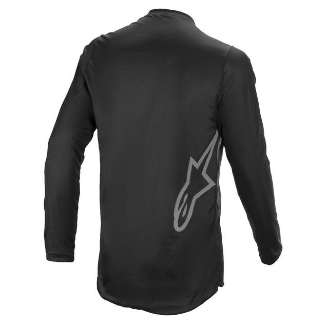 Alpinestars Fluid Graphite Jersey Black Dark Grey