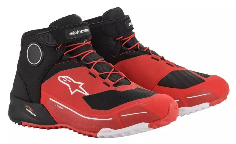 CR-X DRYSTAR RIDING SHOES Black Red