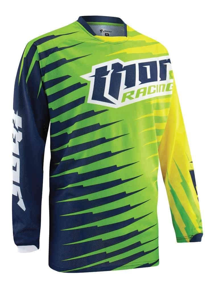 Thor Green Yellow Black Jersey