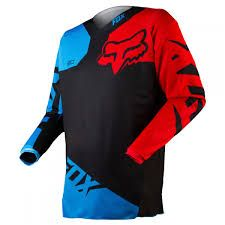 Fox 180 Black Blue Jersey