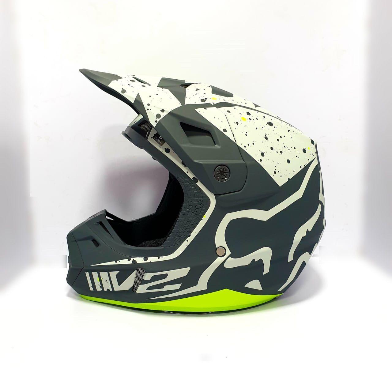 Fox Racing V2 Nirv ECE Certified Helmet