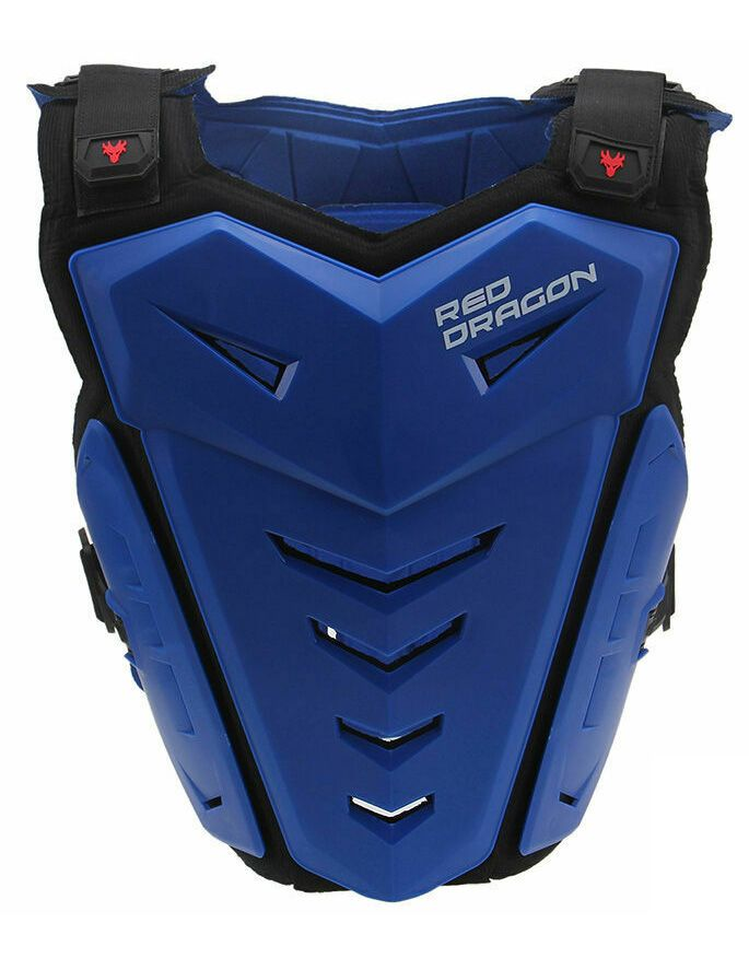 Red Dragon Chest Guard Blue