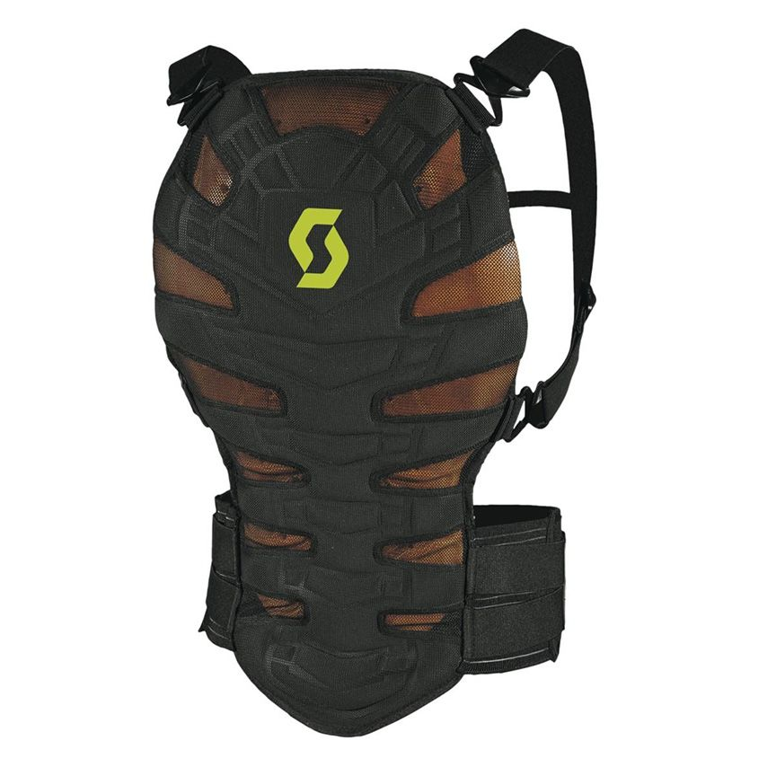 SCOTT MOTO BACK PROTECTOR SOFT CR II BLACK/GREEN
