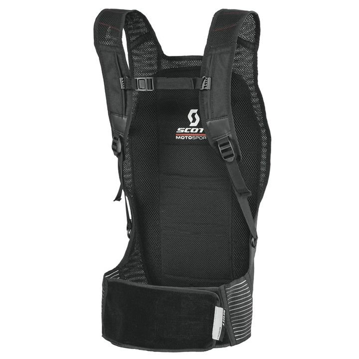 SCOTT MOTO BACK PROTECTOR SOFTCON BLACK
