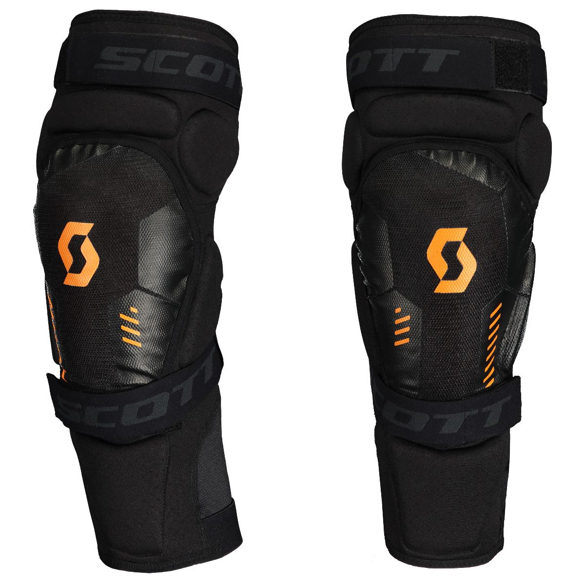 SCOTT MOTO KNEE GUARDS SOFTCON 2 BLACK