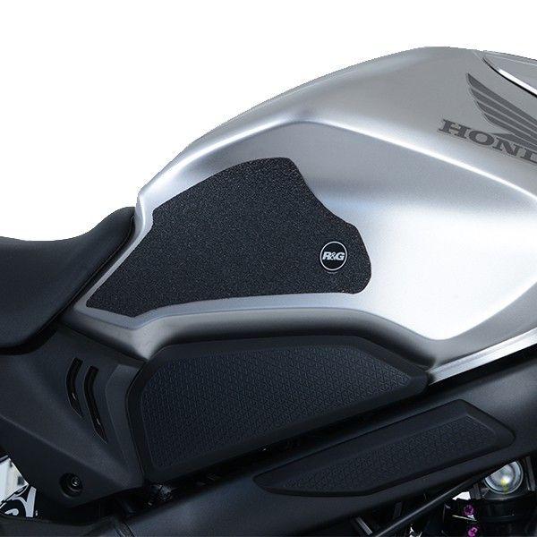 HONDA CBR650R R&G RACING BLACK TANK TRACTION GRIPS