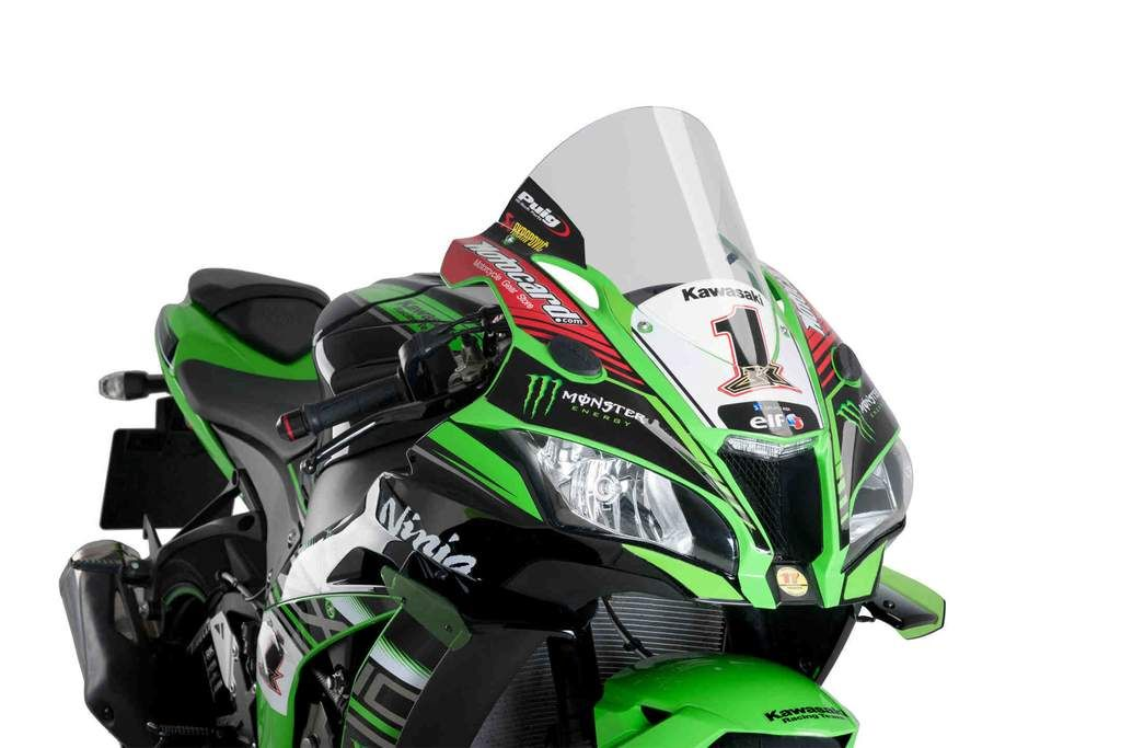 SCREEN AEROMAX ERMAX FOR ZX 10 R 2016+ Clear