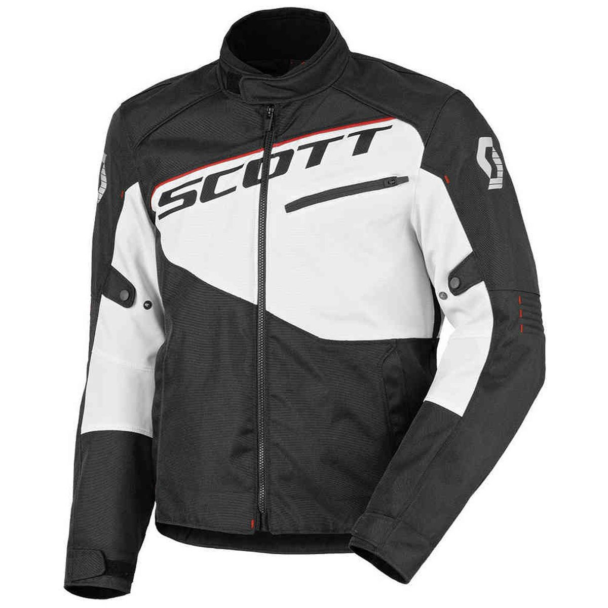 SCOTT MOTO BLOUSON SPORT 2 DP BLACK WHITE
