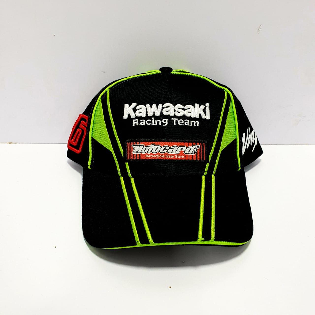 Kawasaki Racing Team Motocard Caps