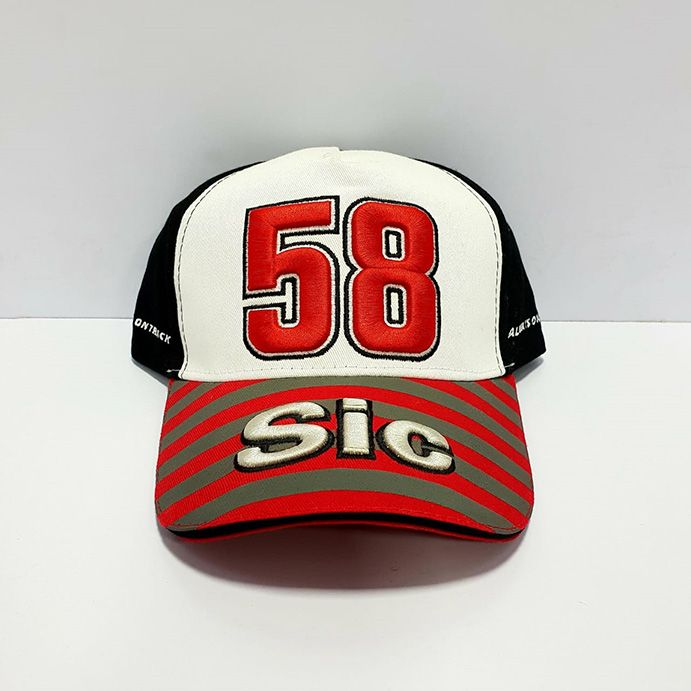 58 Sic Black White