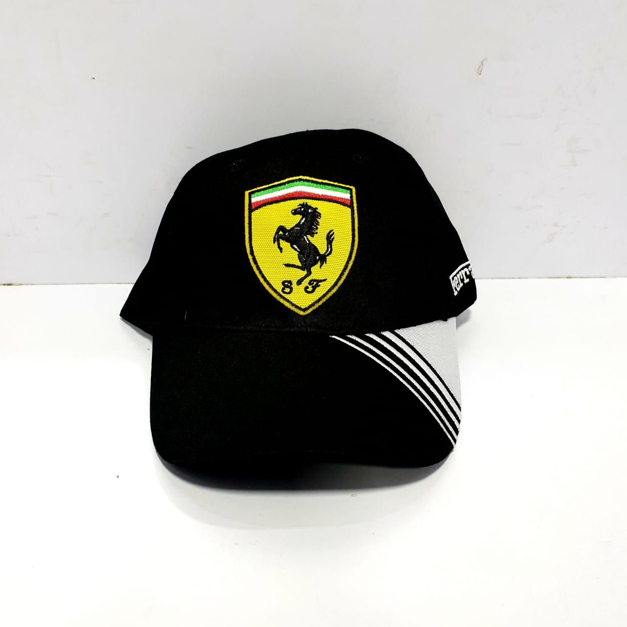Ferrari Black Caps