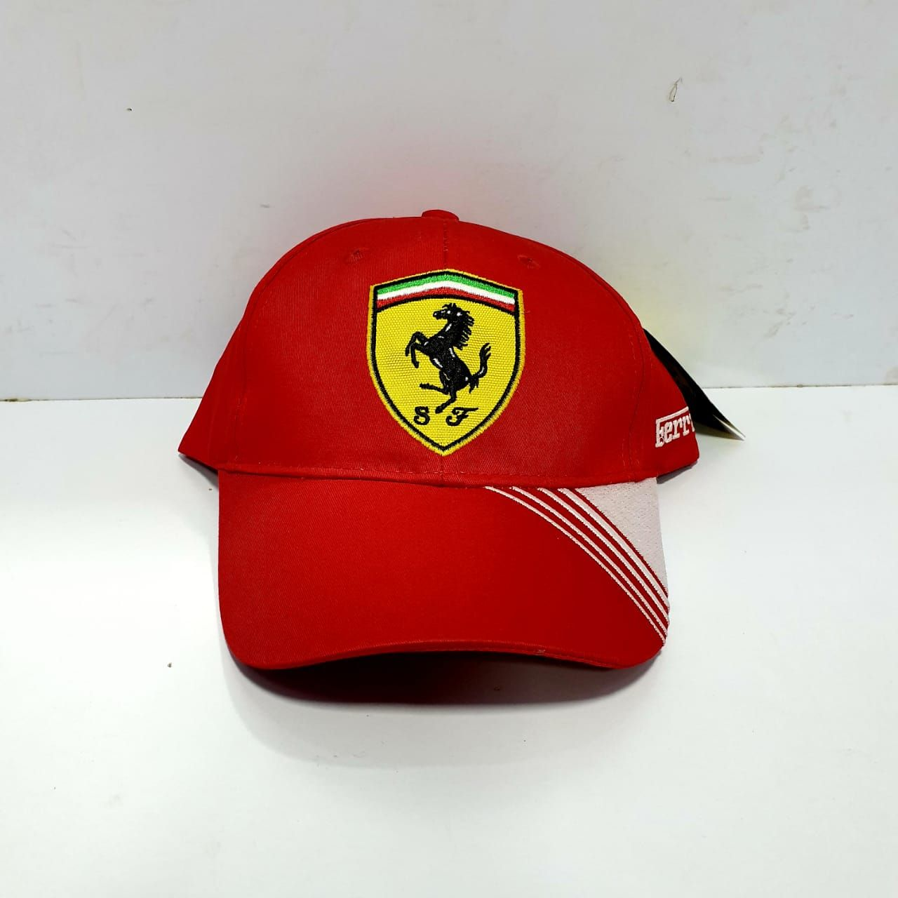 Ferrari Red Caps