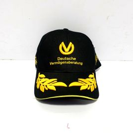 Michael schumacher Black Gold Caps