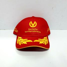 Michael Schumacher Red Gold Caps