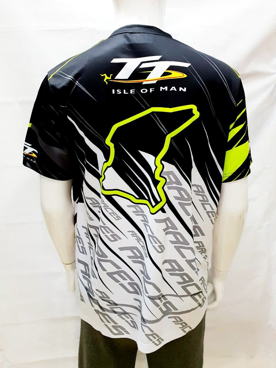 Isle of Man TT Races Dryfit Tshirt