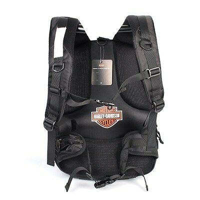 Harley Davidson Carbon Black Hard Shell Backpack