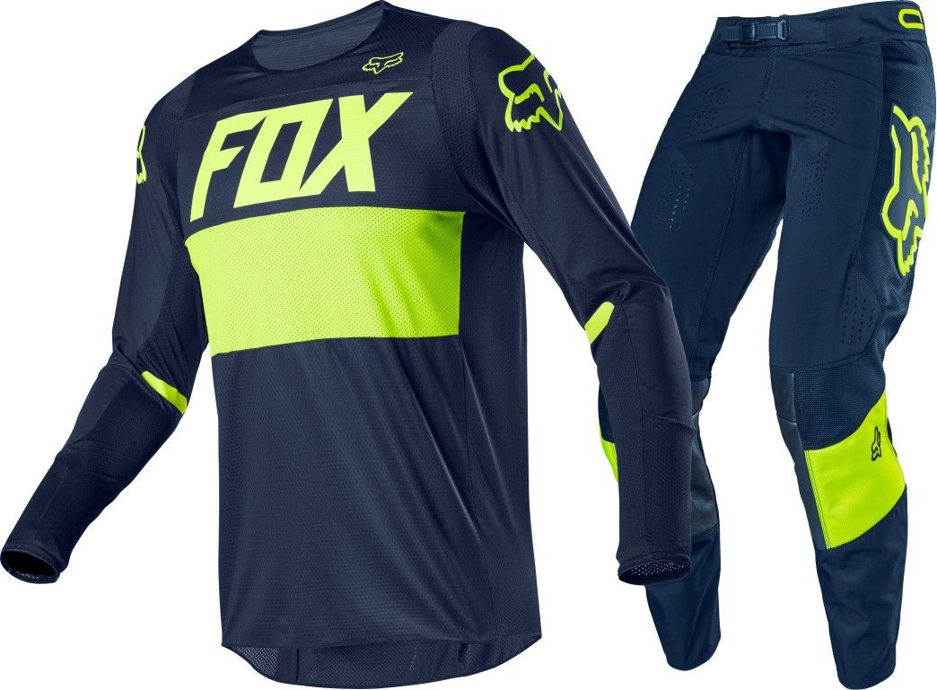 Fox Racing 360 Bann Jersey Pants Set Blue Fluro
