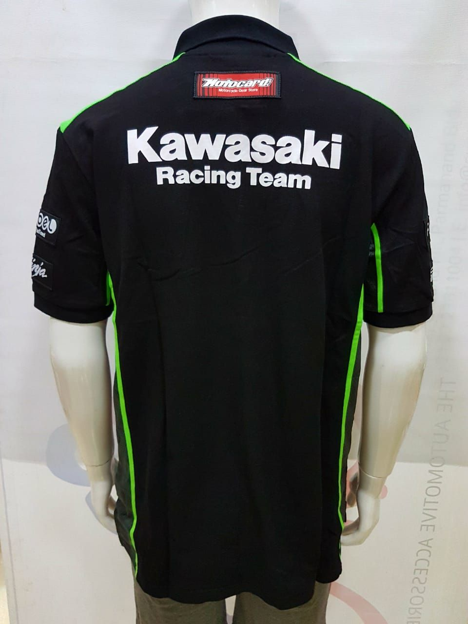 Kawasaki Racing Team Polo Tshirt